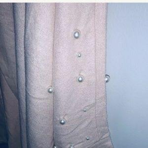 Bobeau Zoey size 1X Cozy Cardigan w/Pearl Trim